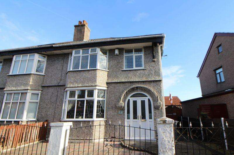 3 Bedrooms Semi Detached House for sale in Highfield Crescent, Rock Ferry