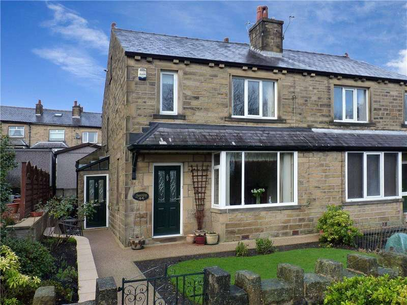 3 Bedrooms Semi Detached House for sale in Oakworth Road, Keighley, West Yorkshire