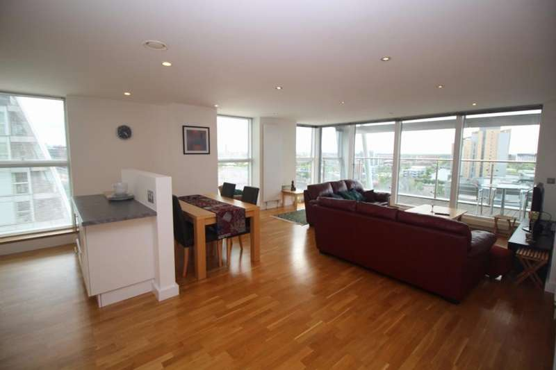 2 Bedrooms Apartment Flat for rent in NV Buildings, 98 The Quays, Salford Quays, Salford, M50