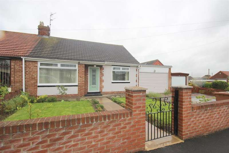 2 Bedrooms Semi Detached Bungalow for sale in Bourn Lea, Houghton Le Spring