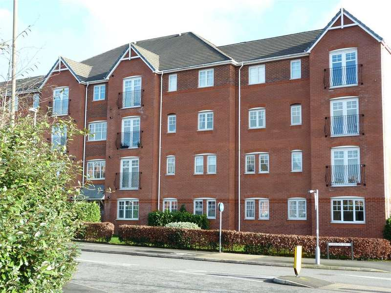 2 Bedrooms Apartment Flat for sale in Beames House, Harrison Drive, Crewe, Cheshire, CW1