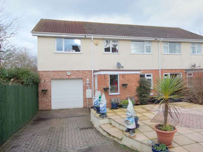 5 Bedrooms Semi Detached House for sale in Sylvan Close, Exmouth
