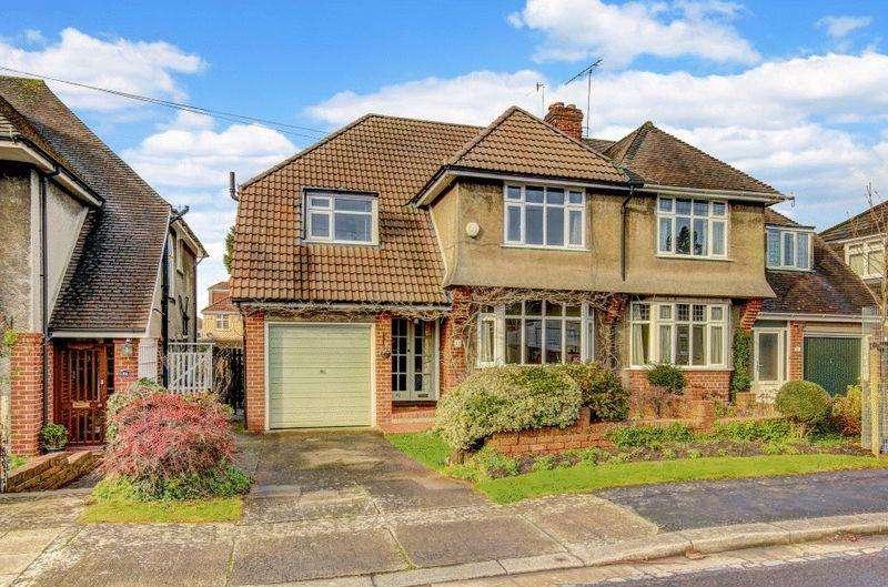 4 Bedrooms Semi Detached House for sale in Barley Croft, Stoke Bishop