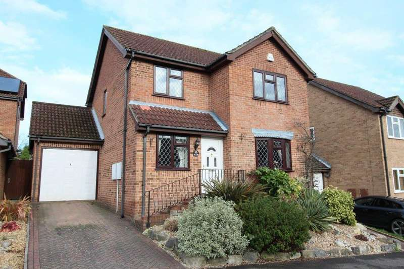 3 Bedrooms Detached House for sale in Gullycroft Mead, Hedge End SO30
