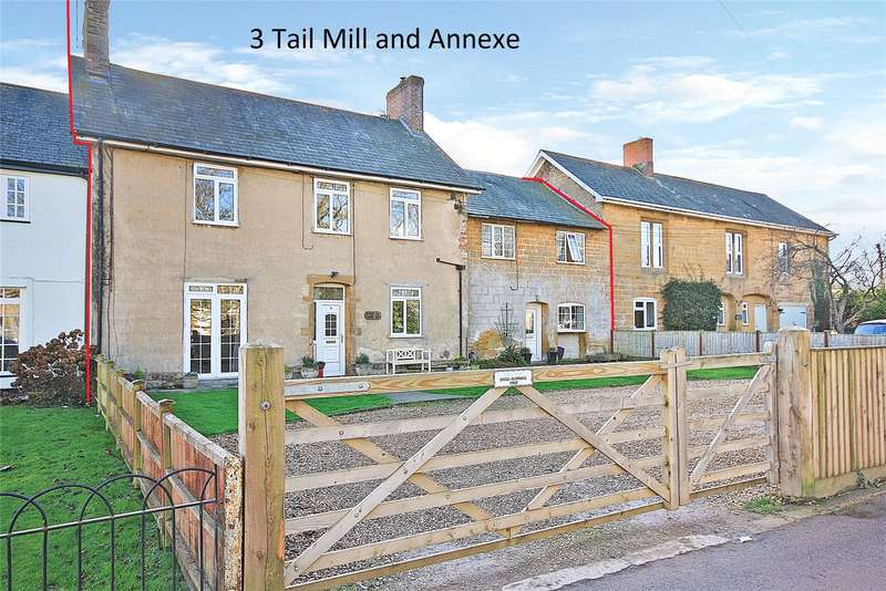 3 Bedrooms Terraced House for sale in Tail Mill Lane, Merriott, Somerset, TA16
