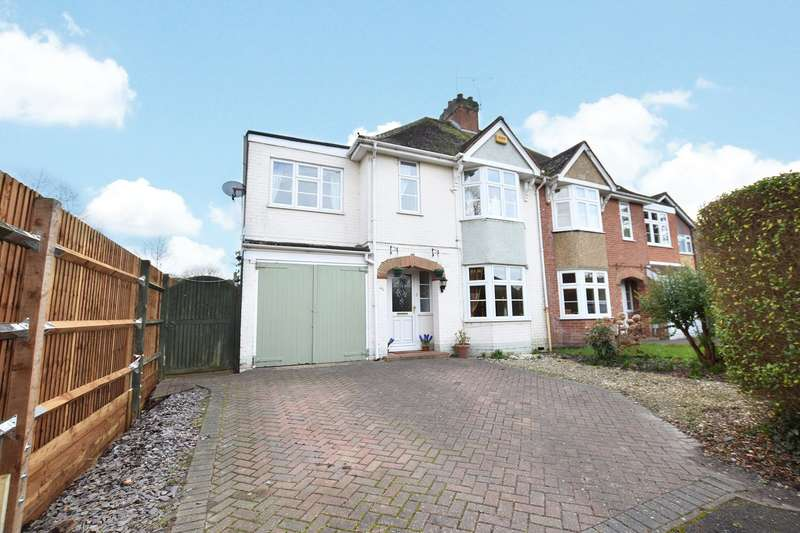 4 Bedrooms Semi Detached House for sale in Park Road, Bracknell, Berkshire, RG12