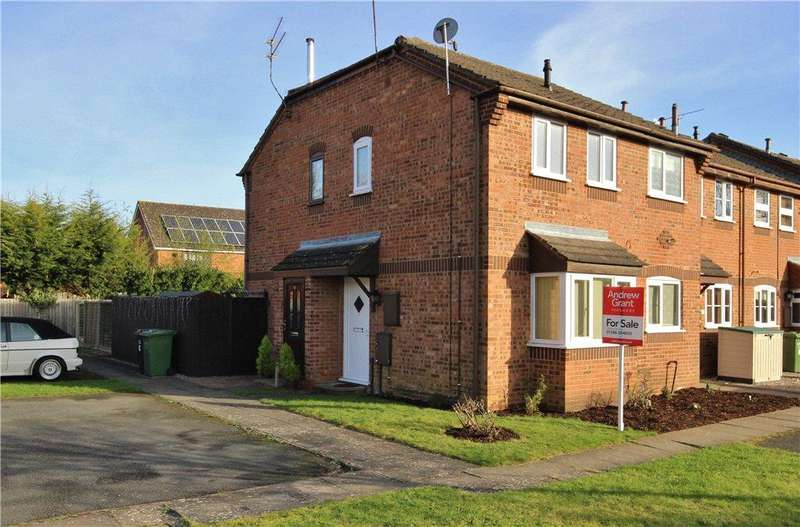 1 Bedroom End Of Terrace House for sale in Perscoran Way, Pershore, Worcestershire, WR10