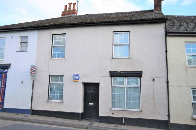 2 Bedrooms Terraced House for sale in Victoria Terrace, Cullompton EX15