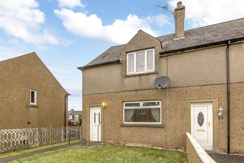 2 Bedrooms End Of Terrace House for sale in 32 Braehead Road, Stirling, FK7