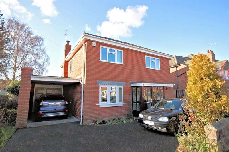 4 Bedrooms Detached House for sale in Newfield Crescent, HALESOWEN, West Midlands