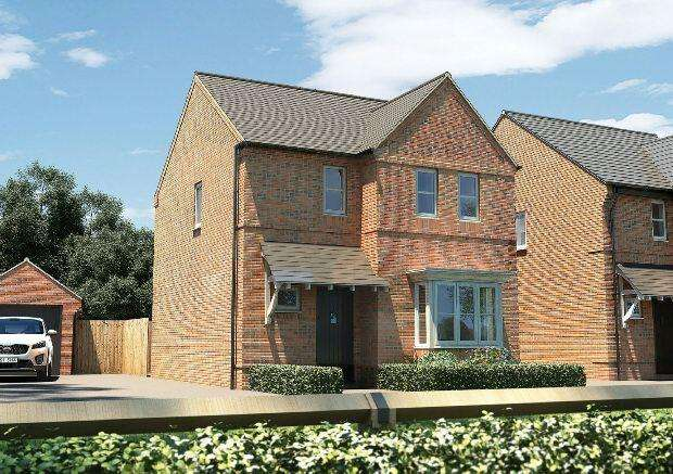 3 Bedrooms Detached House for sale in Banbury Rise, Banbury