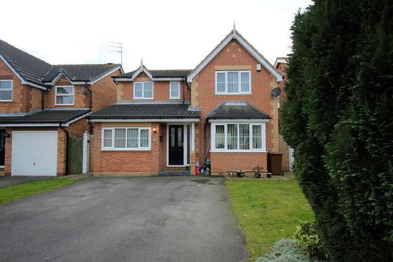 4 Bedrooms Detached House for sale in Ascott Close, Hull, HU4