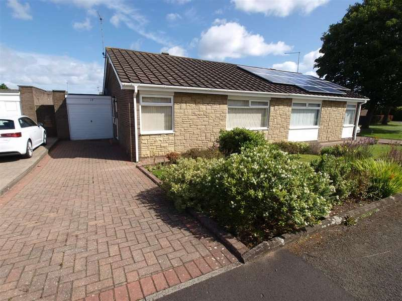 2 Bedrooms Semi Detached Bungalow for sale in Reigate Square, Cramlington