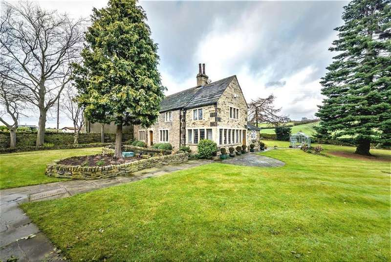5 Bedrooms Detached House for sale in Long Tongue Scrog Lane, Whitley Willows, Huddersfield, HD5
