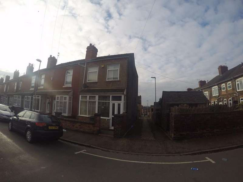 3 Bedrooms End Of Terrace House for rent in Gordon Steet, Burslem, STOKE ON TRENT ST6