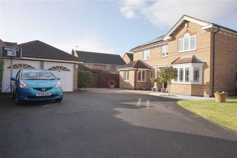 4 Bedrooms Detached House for sale in Thornton, Elloughton, Elloughton, HU15