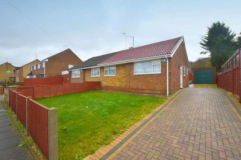 2 Bedrooms Bungalow for sale in Bradley Road, Luton, Bedfordshire, LU4 0AR