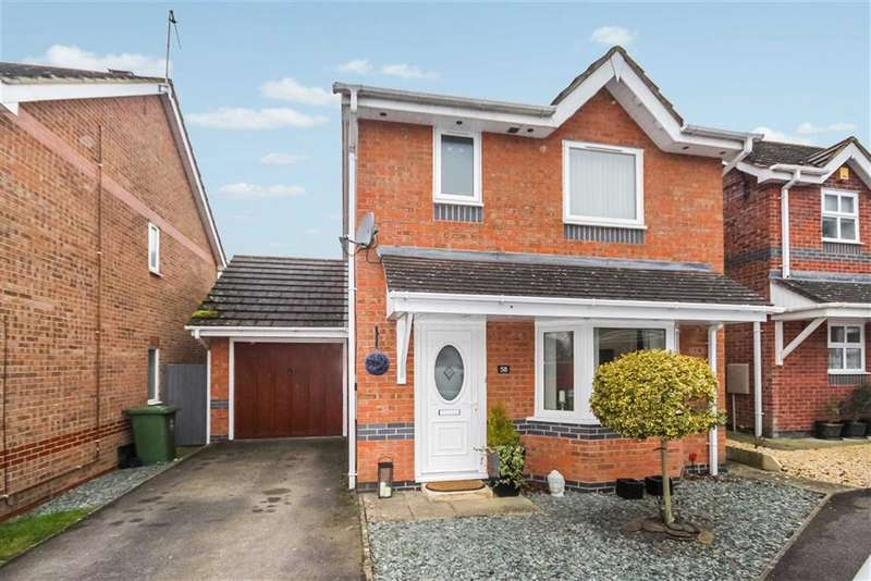 3 Bedrooms Detached House for sale in Furze Close, Peatmoor, Swindon