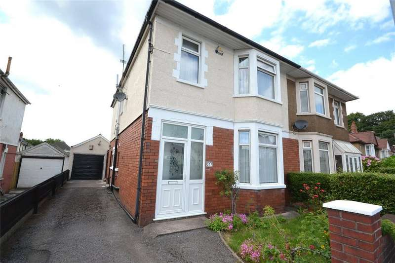 4 Bedrooms Semi Detached House for sale in Newport Road, Rumney, Cardiff, CF3