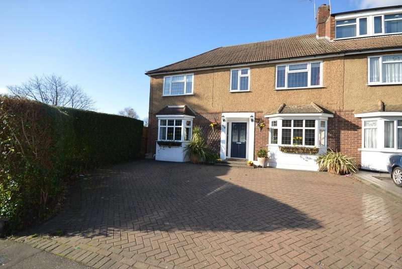 5 Bedrooms End Of Terrace House for sale in Chase Cross Road, Collier Row, Romford, RM5