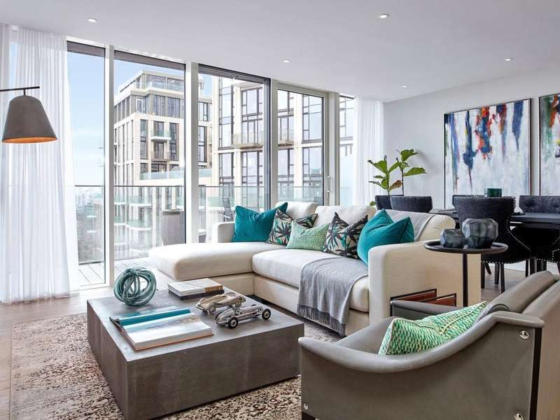 3 Bedrooms Apartment Flat for sale in Clipper Wharf, London Dock, Wapping, E1W
