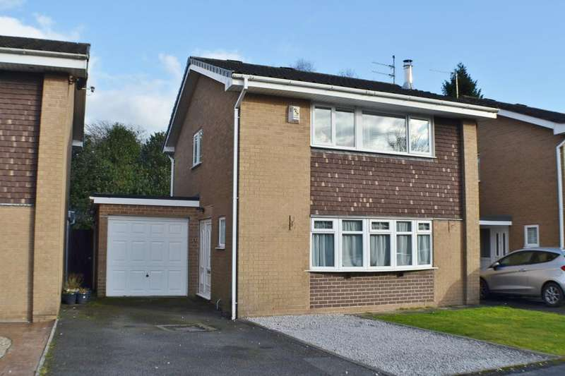 3 Bedrooms Detached House for sale in Capesthorne Close, Holmes Chapel