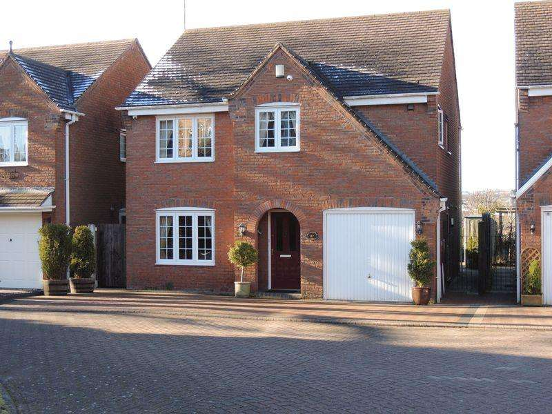 4 Bedrooms Detached House for sale in Ashmole Avenue, Burntwood