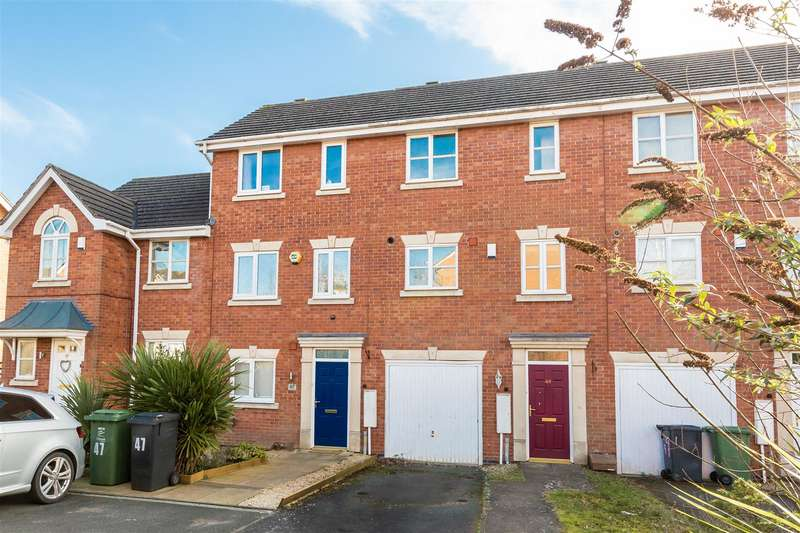 3 Bedrooms Terraced House for sale in Honeychurch Close, Redditch