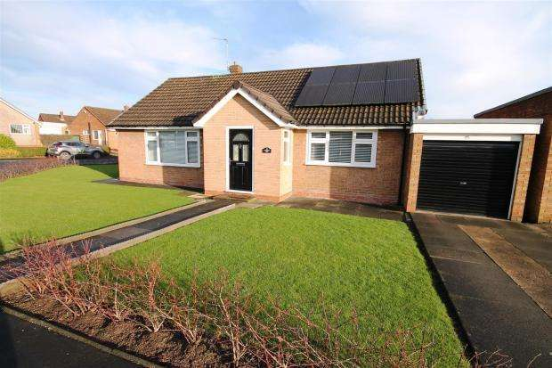 2 Bedrooms Detached Bungalow for sale in Devonshire Road, Belmont, Durham