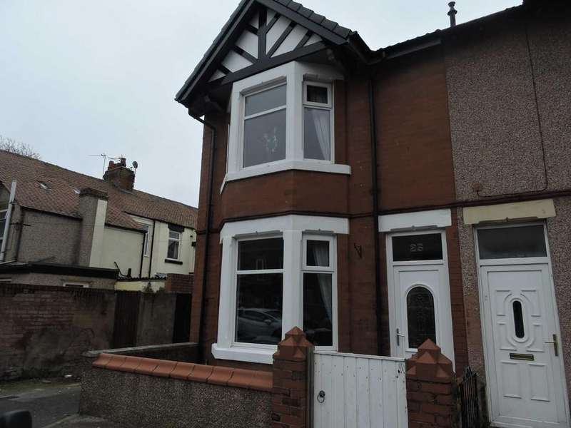 3 Bedrooms End Of Terrace House for sale in Birch Street, Fleetwood