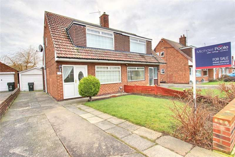 2 Bedrooms Semi Detached Bungalow for sale in Cassop Grove, Acklam