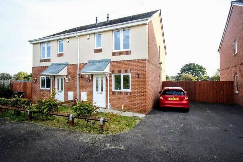 2 Bedrooms Semi Detached House for sale in Meadow Close, Poulton-le-fylde
