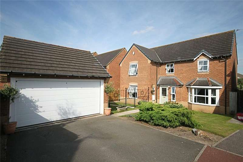 4 Bedrooms Detached House for sale in Homestead Garth, Ingleby Barwick