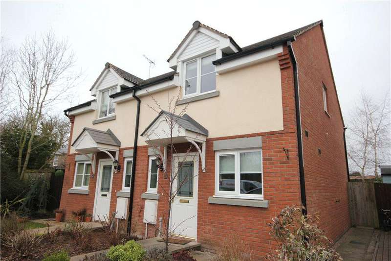 2 Bedrooms Semi Detached House for sale in Farndon Rise, Withington, Hereford, HR1
