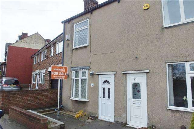 2 Bedrooms End Of Terrace House for sale in Furnace Lane, Woodhouse Mill, Sheffield, S13 9XD