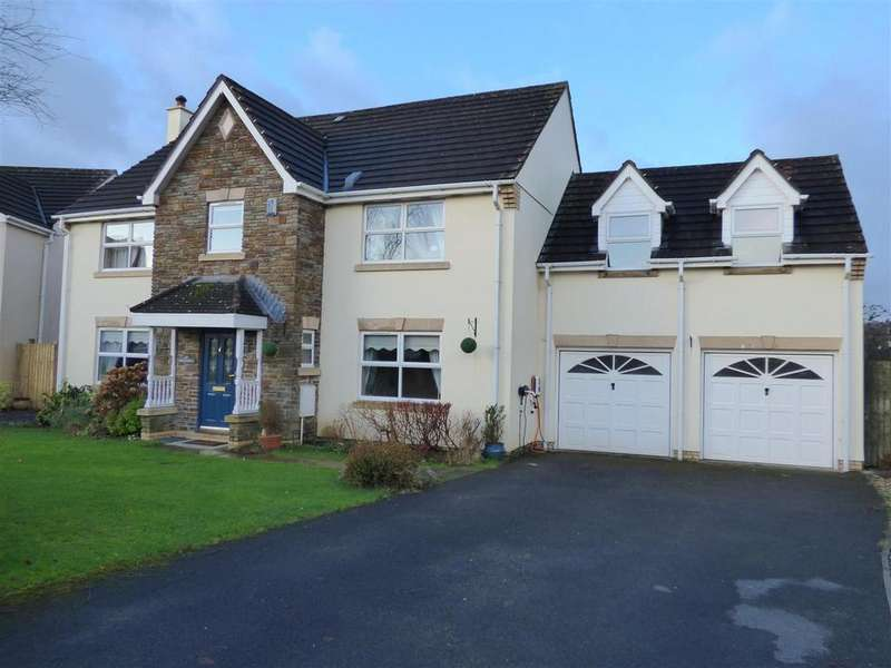 5 Bedrooms Detached House for sale in Ffordd Y Briallu, Abergwili, Carmarthen