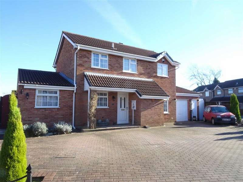 4 Bedrooms Detached House for sale in Kent Drive, Hinckley
