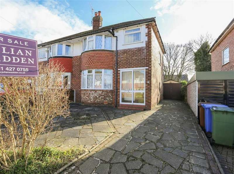 3 Bedrooms Semi Detached House for sale in Norbury Drive, Marple, Cheshire