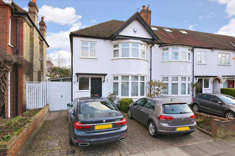 3 Bedrooms Semi Detached House for sale in Birkbeck Road, Mill Hill