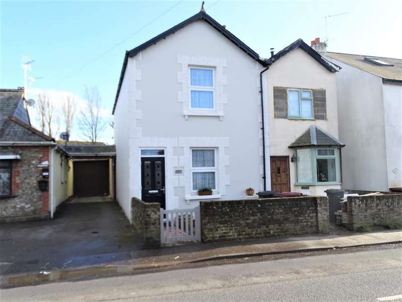 2 Bedrooms Semi Detached House for sale in Hunston