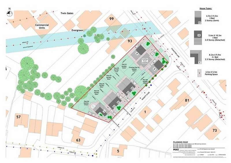 Land Commercial for sale in Stapleton Lane, Barwell