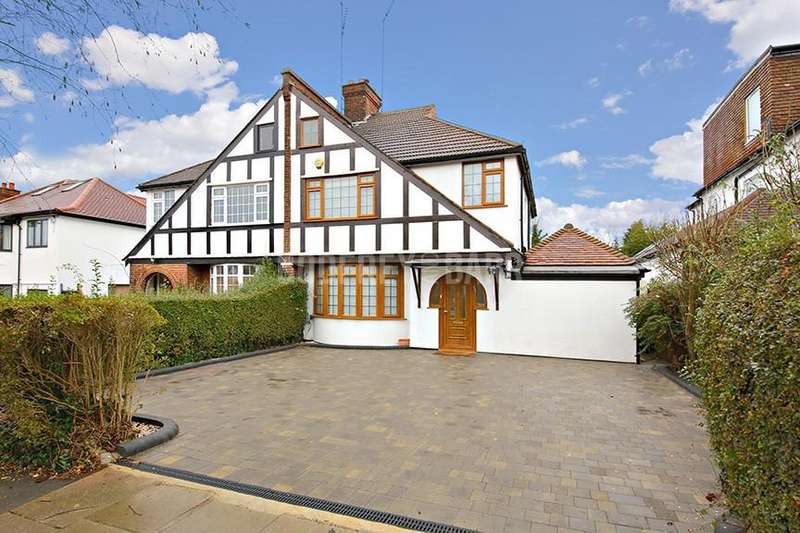 3 Bedrooms Semi Detached House for sale in Waverley Grove, Finchley