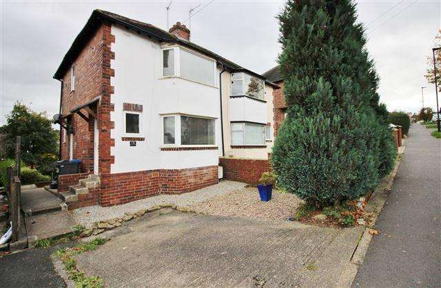 2 Bedrooms Semi Detached House for sale in Youlgreave Drive, Sheffield, S12 4SF