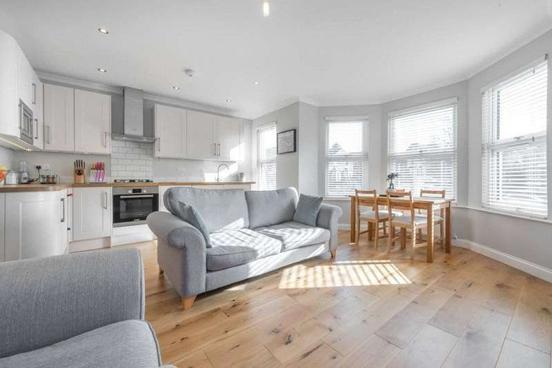 2 Bedrooms Flat for sale in Crownhill Road, London, NW10
