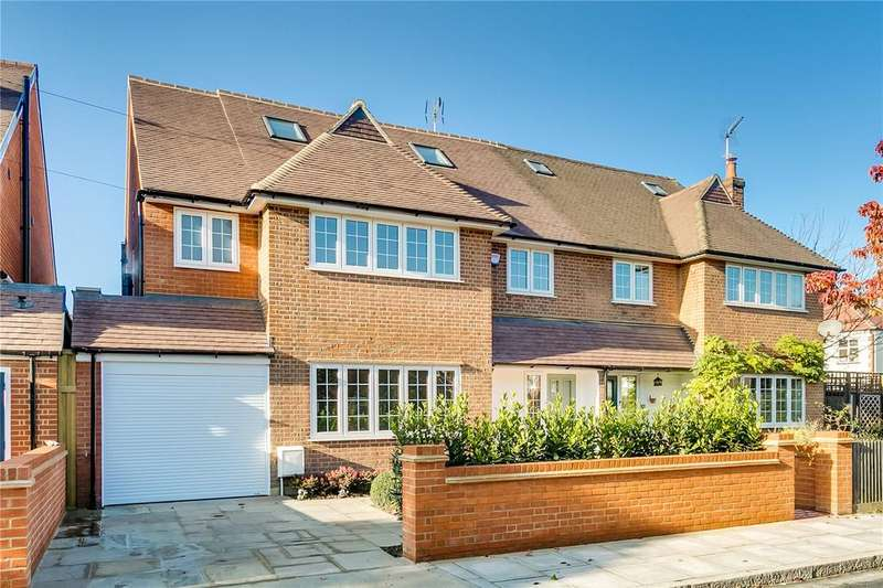 5 Bedrooms Semi Detached House for sale in Burdenshott Avenue, Richmond, Surrey
