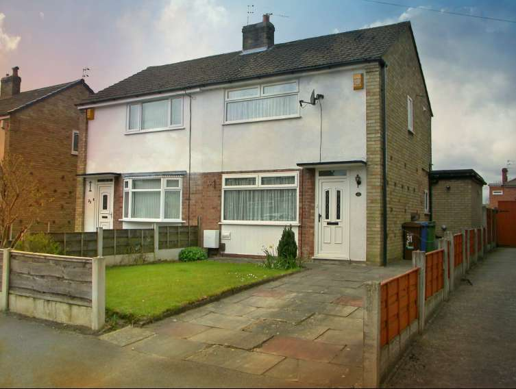 2 Bedrooms Semi Detached House for sale in HEALD GREEN ( DORAC AVENUE )