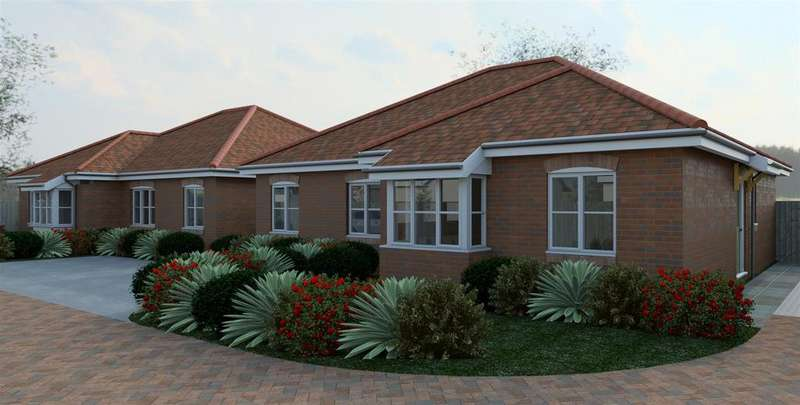 2 Bedrooms Semi Detached Bungalow for sale in Fareham Park Road, Fareham