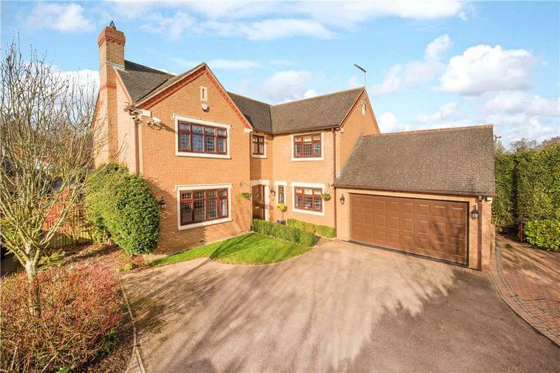 5 Bedrooms Detached House for sale in Falcon Way, Brackley, Northamptonshire