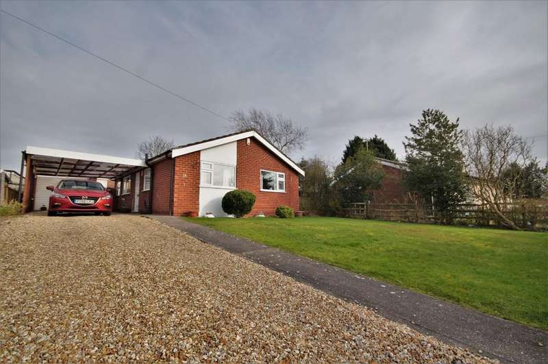 3 Bedrooms Detached Bungalow for sale in Thorpe Lane, Eagle, Lincoln