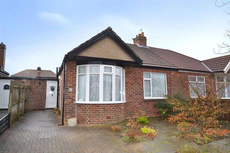2 Bedrooms Semi Detached Bungalow for sale in Fair Green, West Monkseaton
